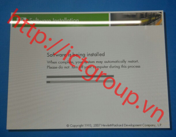 HP Recovery Software installation