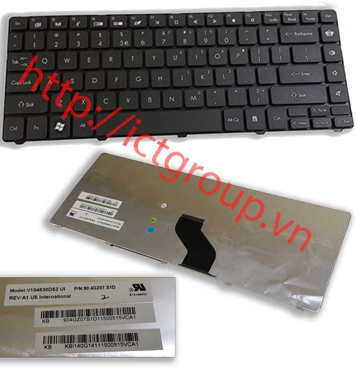 GATEWAY MS2303 keyboard