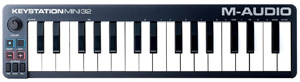 Keystation Mini 32 32-Key Portable Keyboard Controller